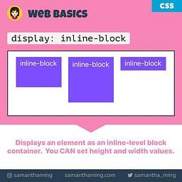 CSS Inline Block