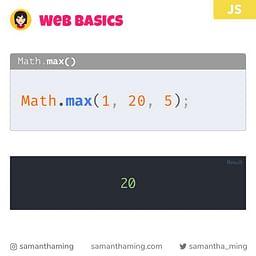 Math.max