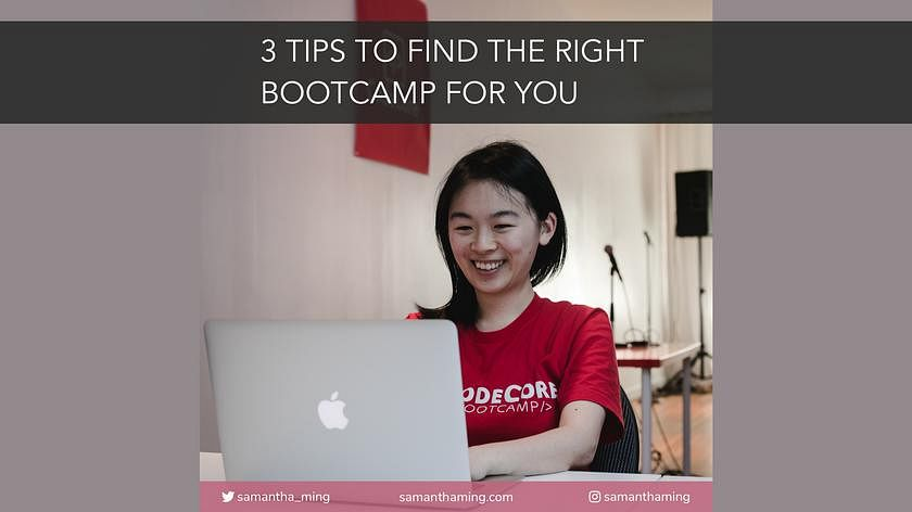 Article Cover of 3 Tips To Find The Right Bootcamp For You