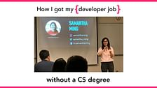 How I Got My First Developer Job Without a CS Degree