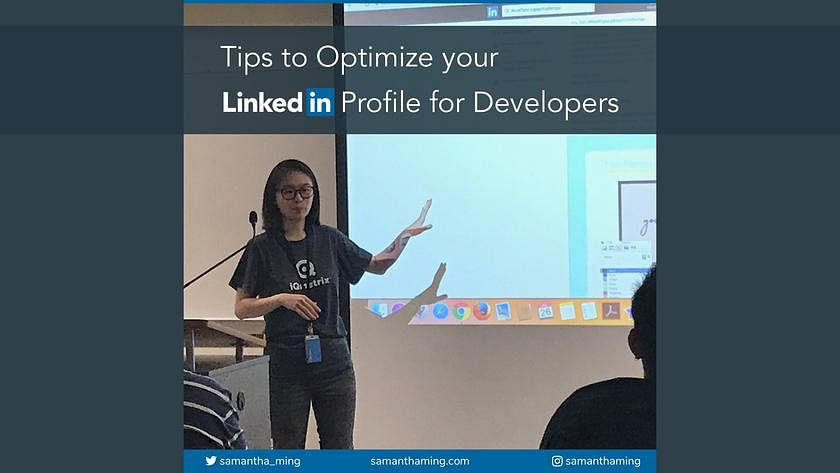 Article Cover of Tips to Optimize your LinkedIn Profile for Developers