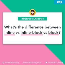 CSS inline vs inline-block vs block