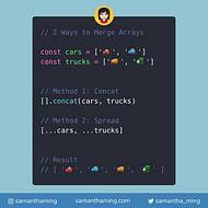 2 Ways to Merge Arrays in JavaScript