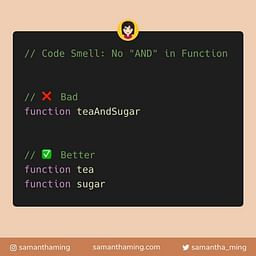 JavaScript: No AND in Function Name