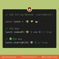 String startsWith Method