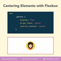 Centering Element With Flexbox