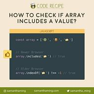 How to Check if Array Includes a Value in JavaScript